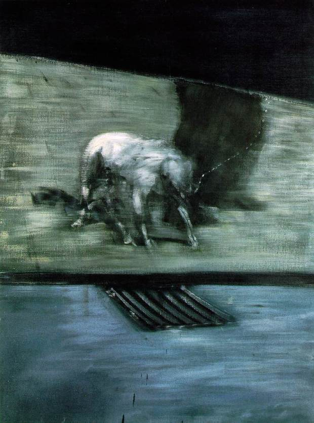 Man With Dog - Francis Bacon (1953)